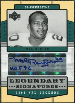 2004 Upper Deck Legends Legendary Signatures #LSMR Mel Renfro Autograph