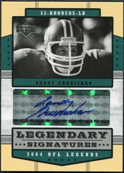 2004 Upper Deck Legends Legendary Signatures #LSRG Randy Gradishar Autograph