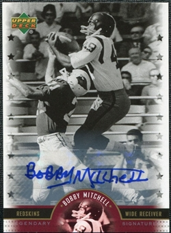 2005 Upper Deck Legends Legendary Signatures #BM Bobby Mitchell Autograph