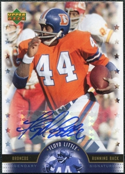 2005 Upper Deck Legends Legendary Signatures #FL Floyd Little Autograph