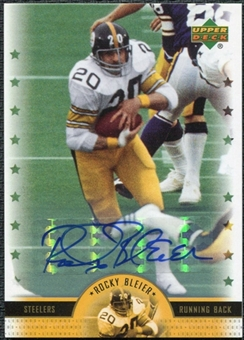 2005 Upper Deck Legends Legendary Signatures #RB Rocky Bleier Autograph