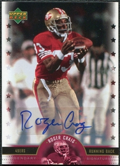 2005 Upper Deck Legends Legendary Signatures #RG Roger Craig Autograph