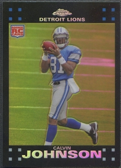 2007 Topps Chrome #TC200 Calvin Johnson Refractor