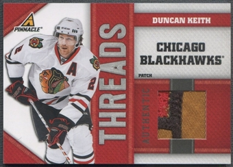 2010/11 Pinnacle #DK Duncan Keith Threads Patch #06/10