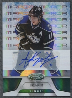 2011/12 Certified #90 Anze Kopitar Mirror Emerald Auto #4/5