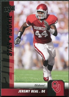 2011 Upper Deck #63 Jeremy Beal SP RC