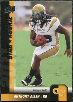 2011 Upper Deck #87 Anthony Allen SP RC