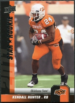 2011 Upper Deck #88 Kendall Hunter SP RC