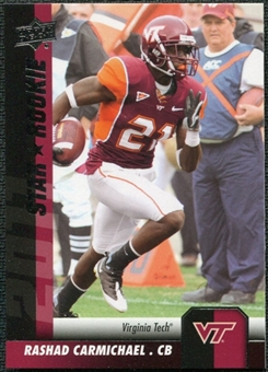 2011 Upper Deck #92 Rashad Carmichael SP RC