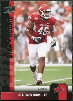 2011 Upper Deck #105 D.J. Williams SP RC