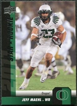 2011 Upper Deck #132 Jeff Maehl SP RC