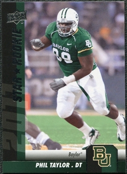 2011 Upper Deck #133 Phil Taylor SP RC