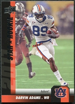 2011 Upper Deck #135 Darvin Adams SP RC
