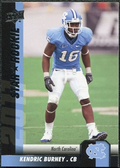 2011 Upper Deck #143 Kendric Burney SP RC