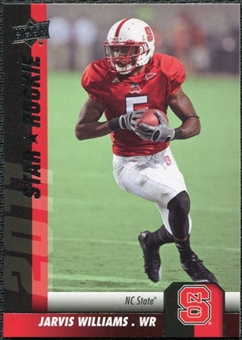 2011 Upper Deck #153 Jarvis Williams SP RC