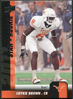 2011 Upper Deck #155 Chykie Brown SP RC