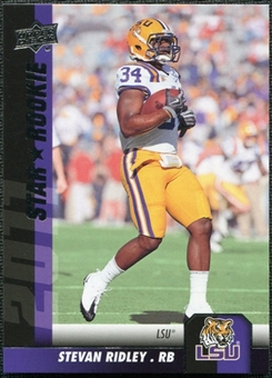2011 Upper Deck #158 Stevan Ridley SP RC