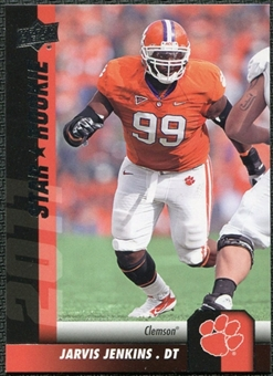 2011 Upper Deck #162 Jarvis Jenkins SP RC