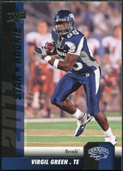 2011 Upper Deck #169 Virgil Green SP RC