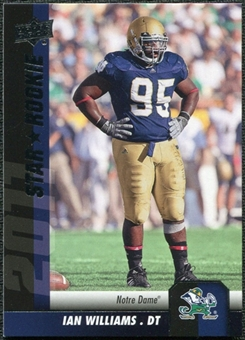 2011 Upper Deck #173 Ian Williams SP RC