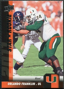 2011 Upper Deck #175 Orlando Franklin SP RC