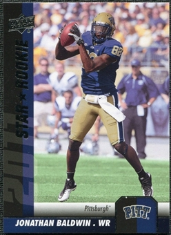 2011 Upper Deck #183 Jonathan Baldwin SP RC