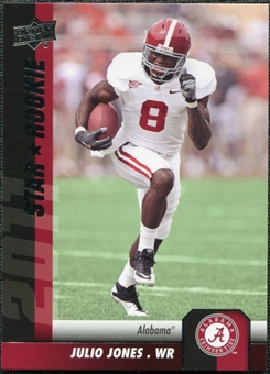 2011 Upper Deck #195 Julio Jones SP RC