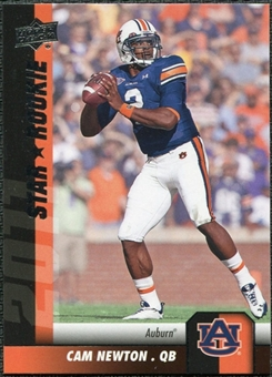 2011 Upper Deck #198 Cam Newton SP RC