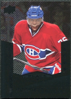 2010/11 Upper Deck Black Diamond #218 P.K. Subban SP RC
