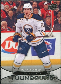2011/12 Upper Deck #456 Marcus Foligno YG RC Young Guns Rookie Card