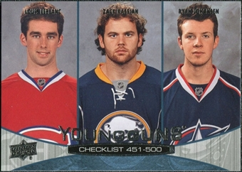 2011/12 Upper Deck #500 Louis Leblanc Zack Kassian Ryan Johansen