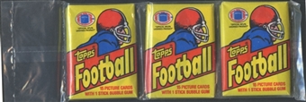 1981 Topps Football Wax Rack Pack