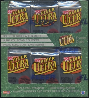1992 Fleer Ultra Football Retail Box