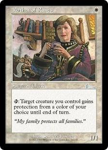 Magic the Gathering Urza's Legacy Single Mother of Runes FOIL
