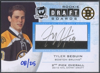 2010/11 The Cup #DBTS Tyler Seguin Draft Board Rookie Auto #08/25