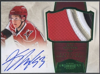 2010/11 Dominion #246 Jeff Skinner Emerald Rookie Patch Auto #2/5