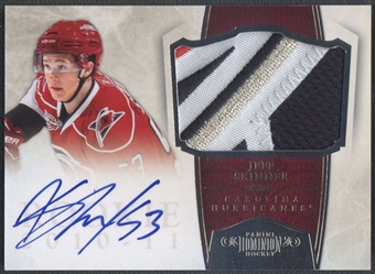 2010/11 Dominion #246 Jeff Skinner Rookie Patch Auto #05/99