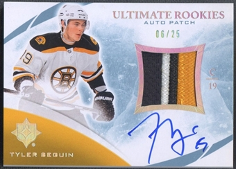 2010/11 Ultimate Collection #141 Tyler Seguin Rookie Patch Auto #06/25