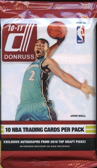 2010/11 Donruss Basketball Retail 24-Pack Lot
