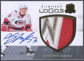 2010/11 The Cup #LLSK Jeff Skinner Limited Logos Patch Auto #28/50