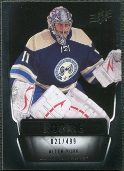 2011/12 Upper Deck SPx #122 Allen York RC /499