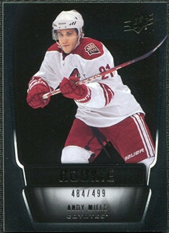 2011/12 Upper Deck SPx #125 Andy Miele RC /499