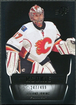 2011/12 Upper Deck SPx #144 Leland Irving RC /499