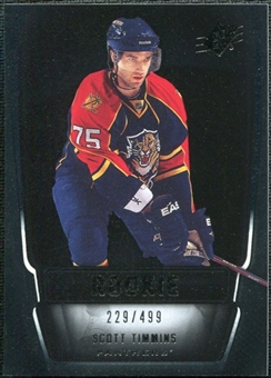2011/12 Upper Deck SPx #157 Scott Timmins RC /499