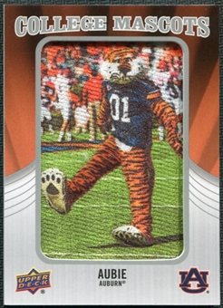 2012 Upper Deck College Mascot Manufactured Patch #CM7 Aubie A