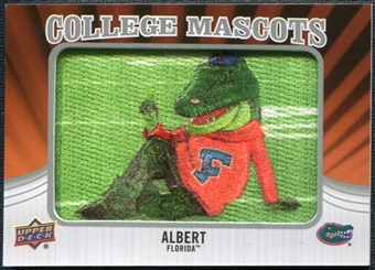 2012 Upper Deck College Mascot Manufactured Patch #CM17 Albert E. Gator A