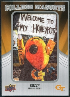 2012 Upper Deck College Mascot Manufactured Patch #CM20 Buzz A