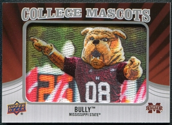 2012 Upper Deck College Mascot Manufactured Patch #CM28 Bully A
