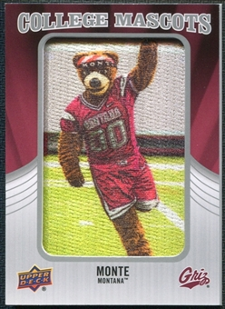2012 Upper Deck College Mascot Manufactured Patch #CM30 Monte B