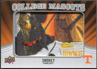 2012 Upper Deck College Mascot Manufactured Patch #CM46 Smokey A